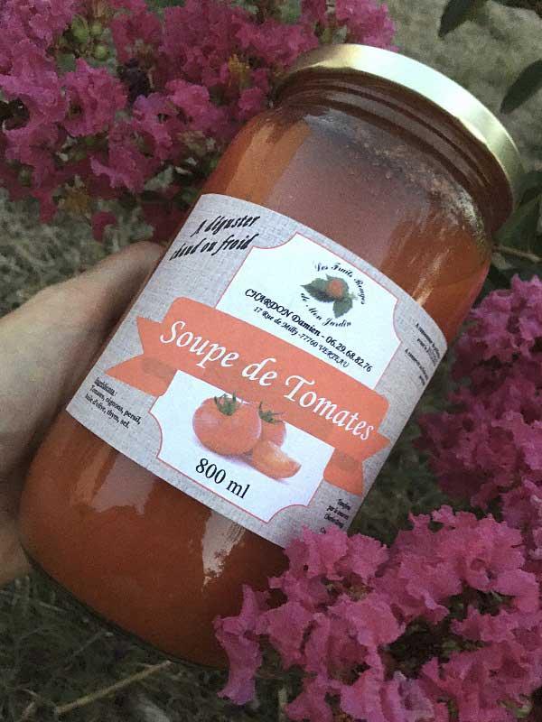 Soupe de Tomates et Soupe de Courgettes / Tomates 800 ml